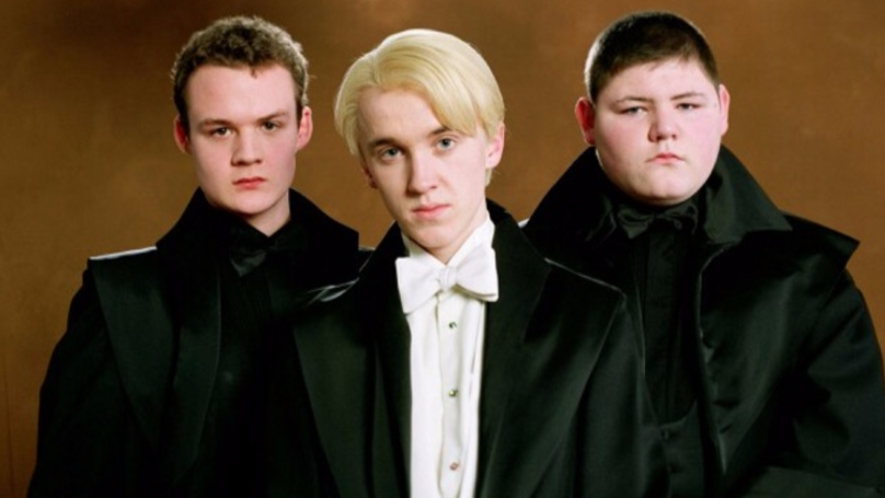 There's A Shocking Reason Why Crabbe Was Replaced In The Last 'Harry Potter' Film