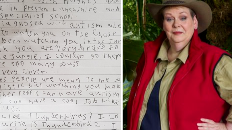 Little Boy With Autism's Heartwarming Open Letter To Anne Hegerty Goes Viral