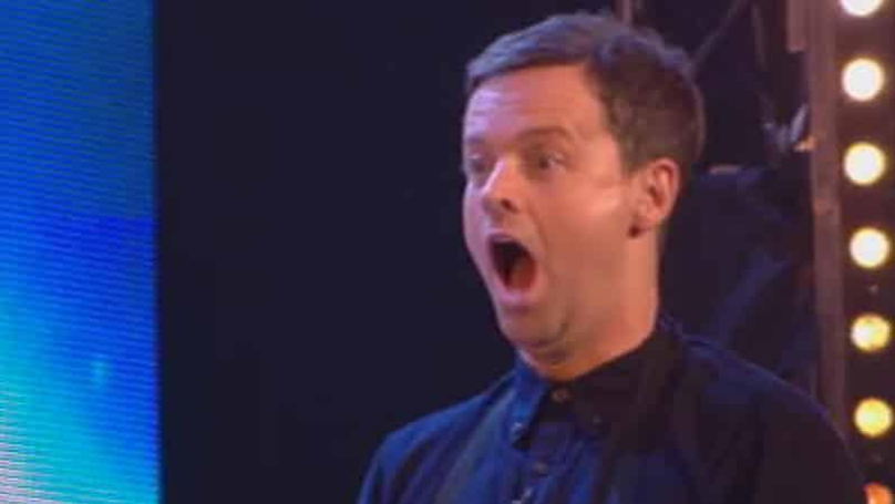 Dec Has 'Never Been So Nervous' After Taking Part In Knife-Throwing 'Britain's Got Talent' Act