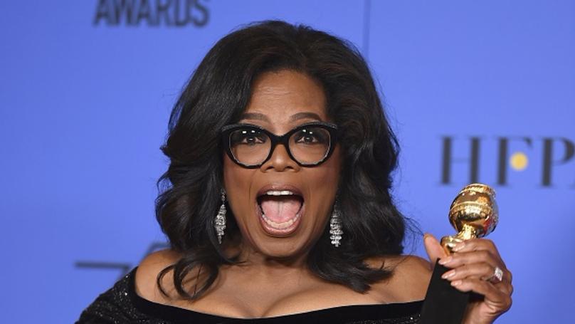 Oprah Winfrey Stole The Show At The Golden Globes With An Inspiring Speech