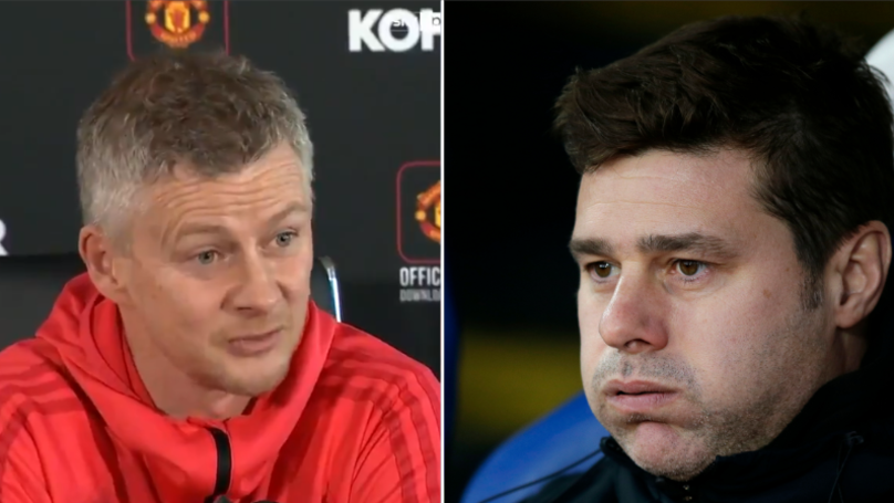 Ole Gunnar Solskjaer Challenges Pochettino's Claim That Top Four Is More Important Than Trophies