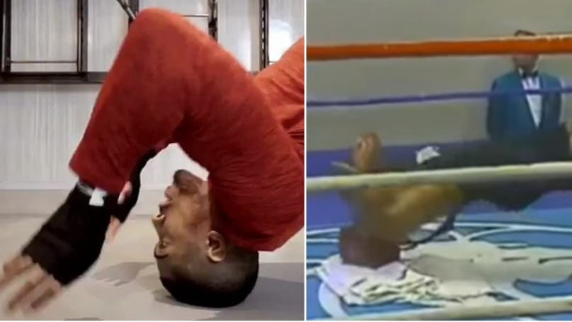 Anthony Joshua's Mike Tyson-Inspired Neck Workout Is Insane