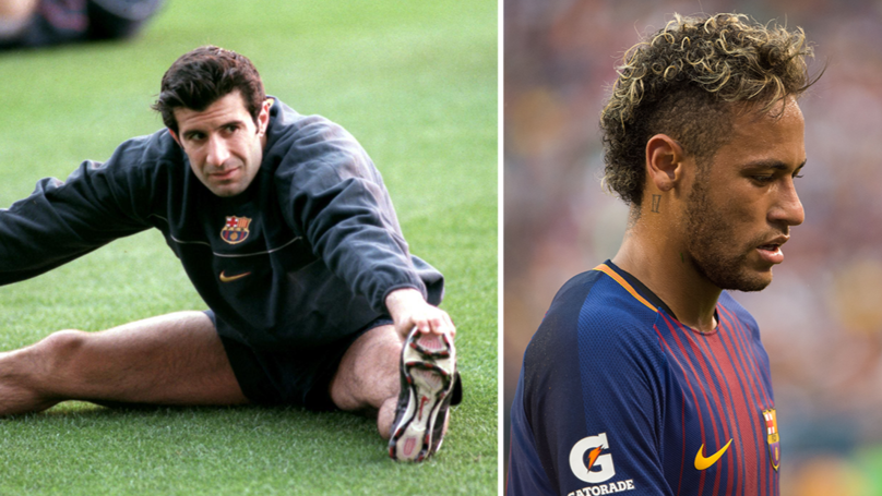 figo, neymar, real madrid