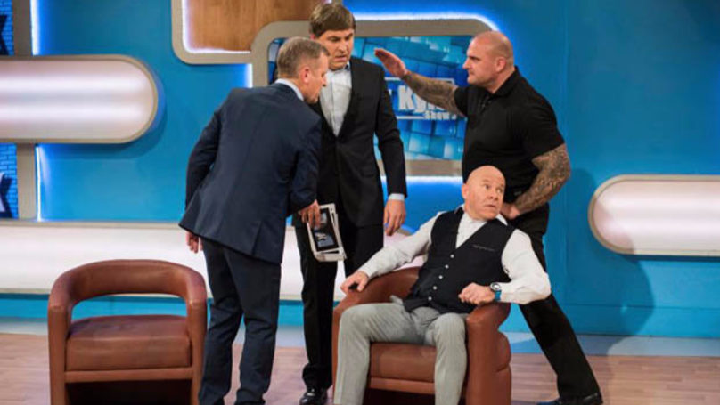 Jeremy Kyle Pictured Being Restrained By Bodyguard Steve