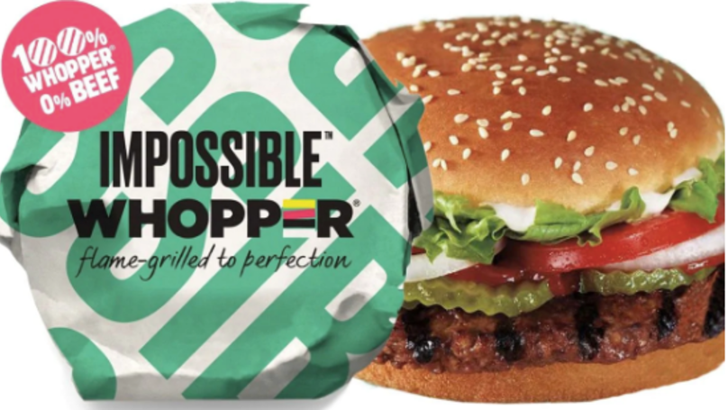 Burger King Launches Vegan 'Whopper' Burger In The US