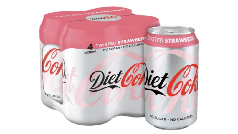 Diet Coke Just Launched A New Flavour And It's The Fruitiest One Yet