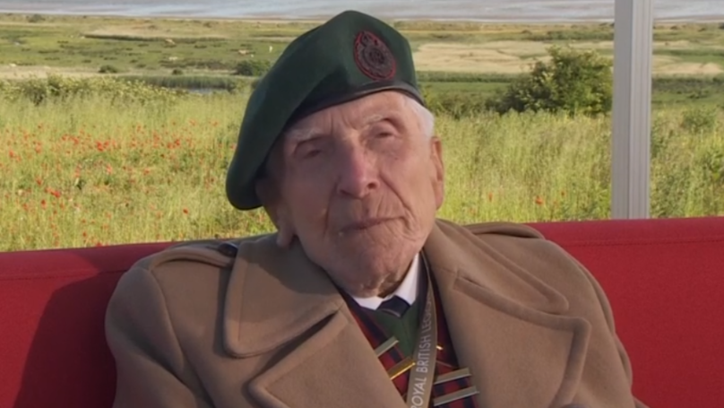 Heroic D-Day Veteran Explains How His 'Generation Saved The World' In Emotional Interview
