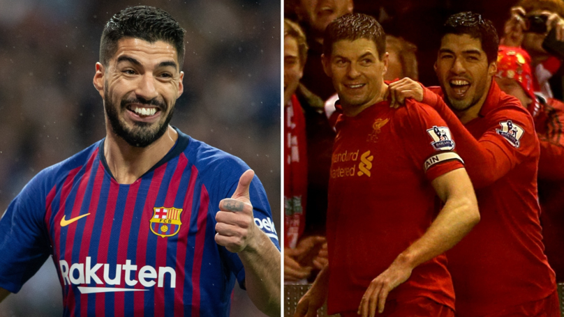 Luis Suárez Reveals Why Steven Gerrard Convinced Him To Reject A Move To Arsenal