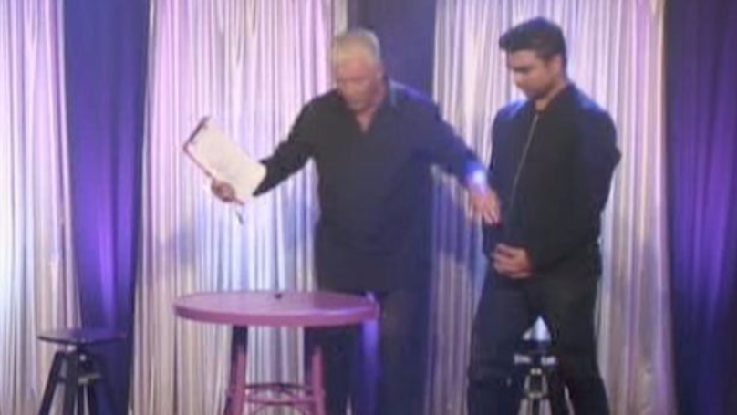 Fans Catch Out Derek Acorah As He 'Speaks To Ghosts' On 'Celebrity Big Brother'