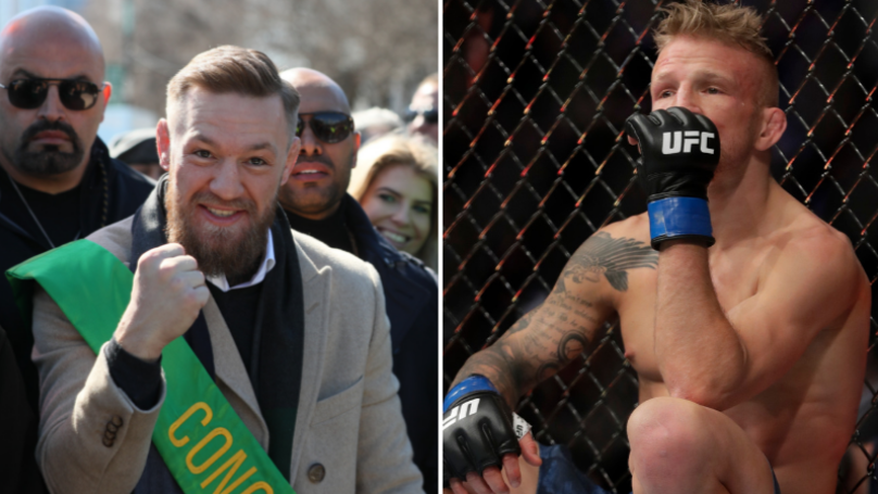 Conor McGregor Anoints Himself New St Patrick In Response To TJ Dillashaw's Drugs Ban