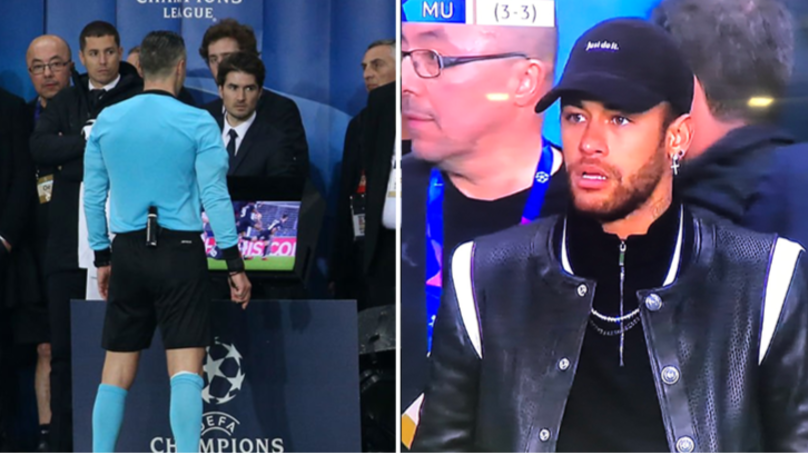 Neymar Was Restrained By PSG Staff After Trying To Get Into Referees Office
