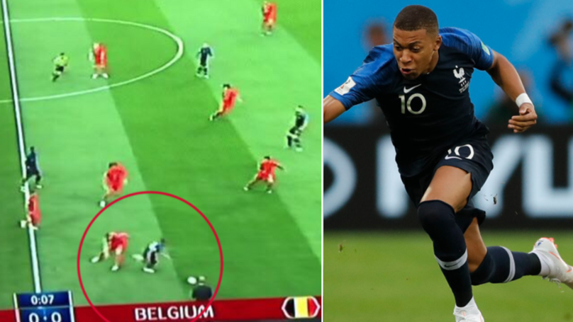 Kylian Mbappé Obliterates The France Defence Almost Right From Kick-Off