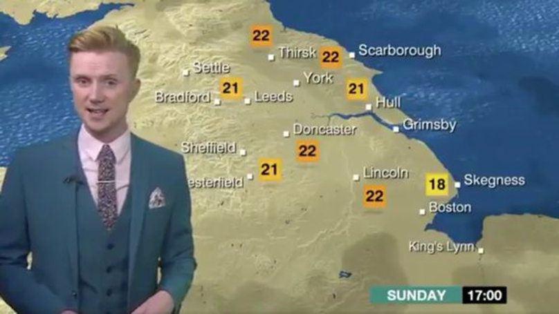BBC Weatherman's Forecast Goes Viral For All The Right Reasons