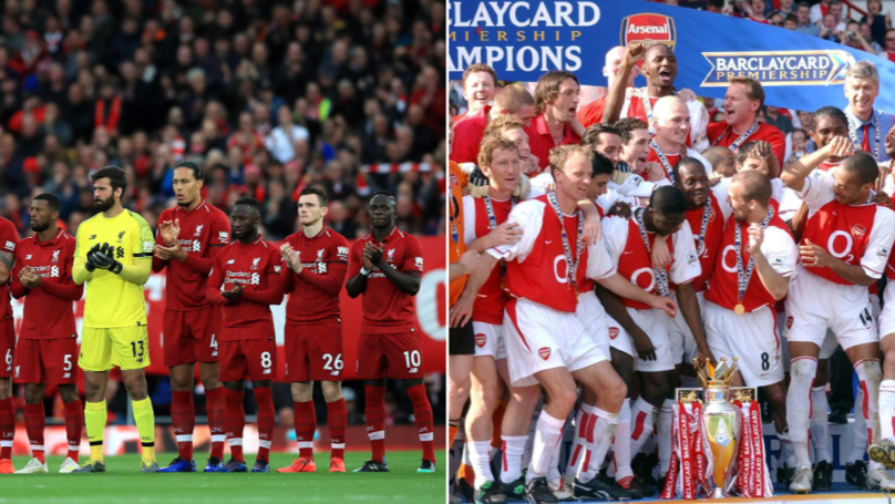 Liverpool Have Surpassed Arsenal's 03/04 'Invincibles' Points Tally