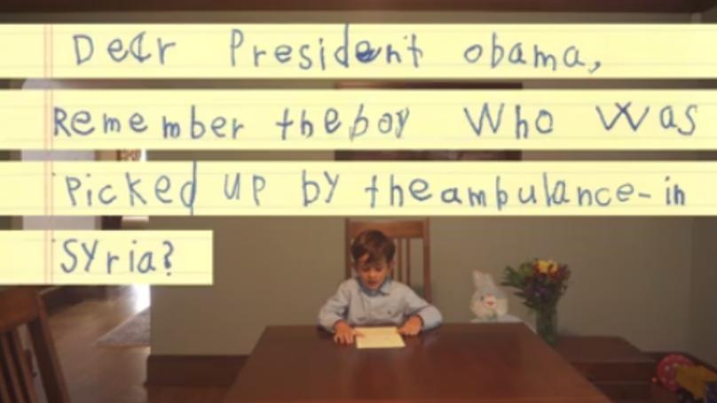 Six-Year-Old American Lad Pens Heartbreaking Letter To Little Syrian Boy