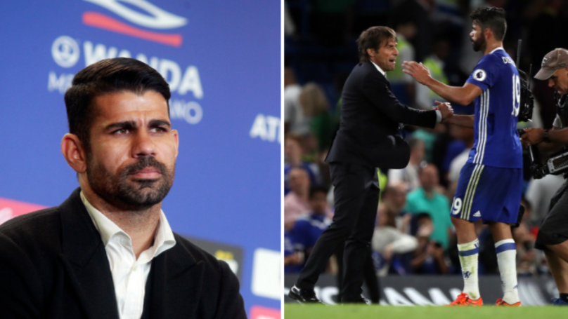 Diego Costa Won't Hide His Hatred Of Antonio Conte