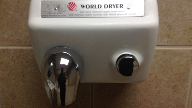 Hand Dryers Are Spraying You With Hot Turd Particles