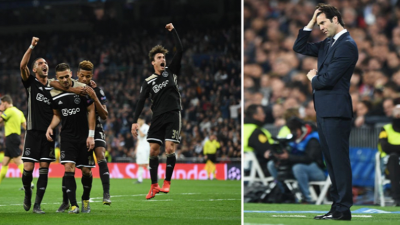 Real Madrid Knocked Out Of The Champions League By Ajax