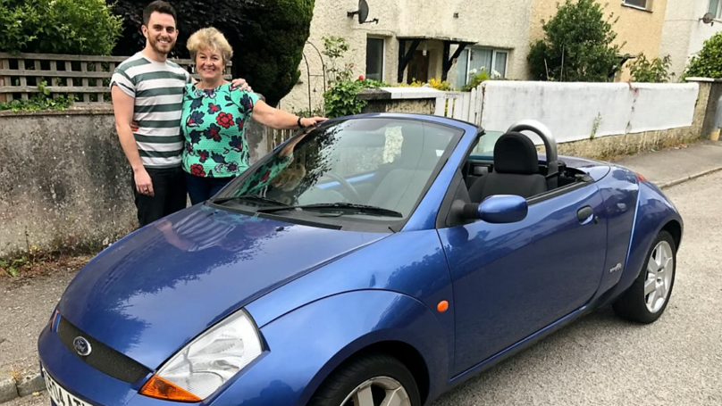 Son Surprises Mum With Car She Sold 12 Years To Help Him With Career