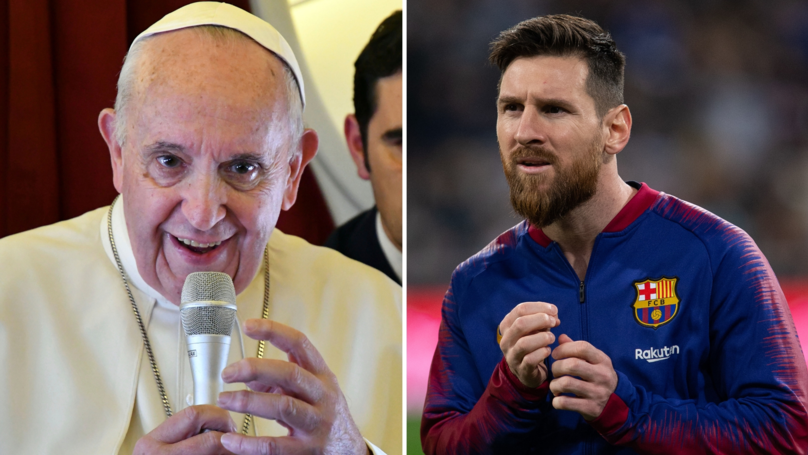 Journalist Asks Pope Francis If Lionel Messi Is God