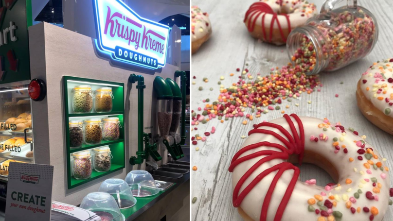 DIY Krispy Kremes Counters Exist So You Can Make Your Own Doughnuts