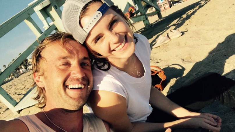 Emma Watson And Tom Felton Hang Out, Internet Goes Into Overdrive