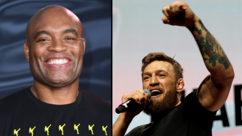 Anderson Silva Responds To Conor McGregor's Offer Of A Fight