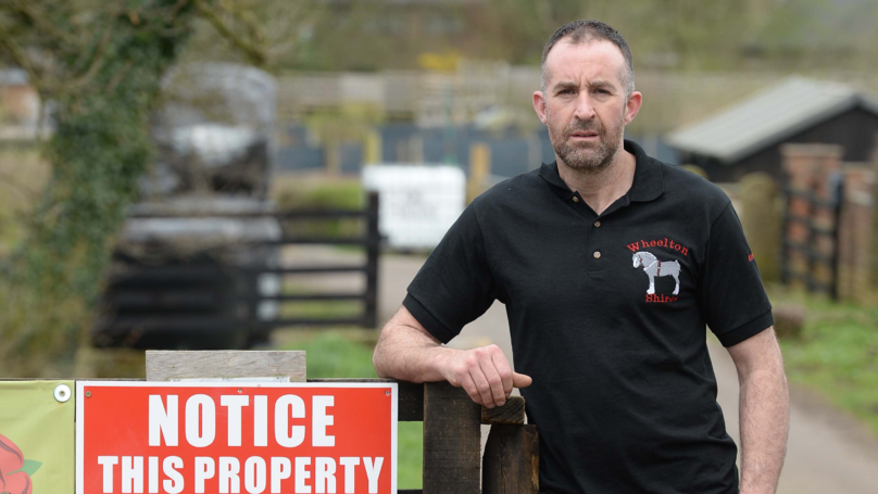 Farmer Puts Up Funny Sign Warning 'Townies' That Animals Smell