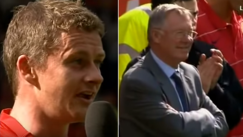 The Way Ole Gunnar Solskjaer Spoke About Sir Alex In Farewell Speech Is Amazing