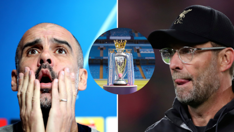 Four Sets Of Results Would Lead To A Manchester City And Liverpool Title Play-Off