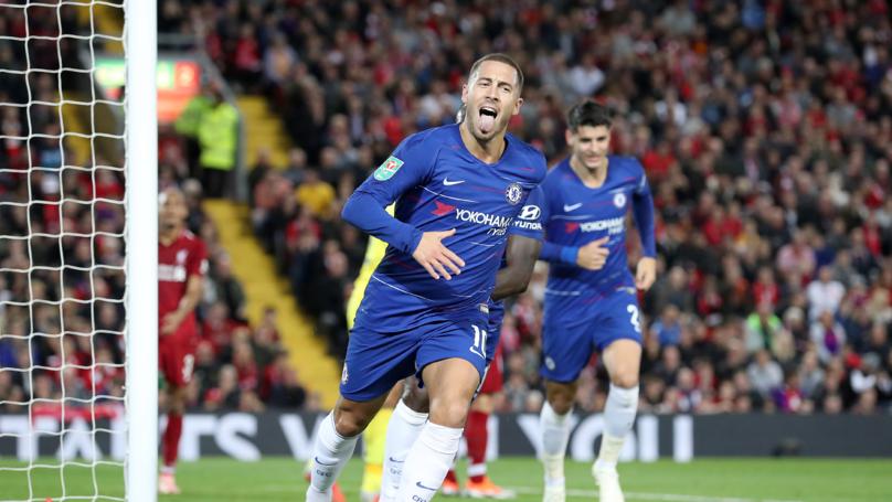 Eden Hazard's Record Against The Big Sides Is Superb
