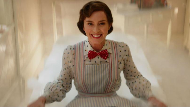 'Mary Poppins Returns' Producers Reveal Magic Behind Bath Scene