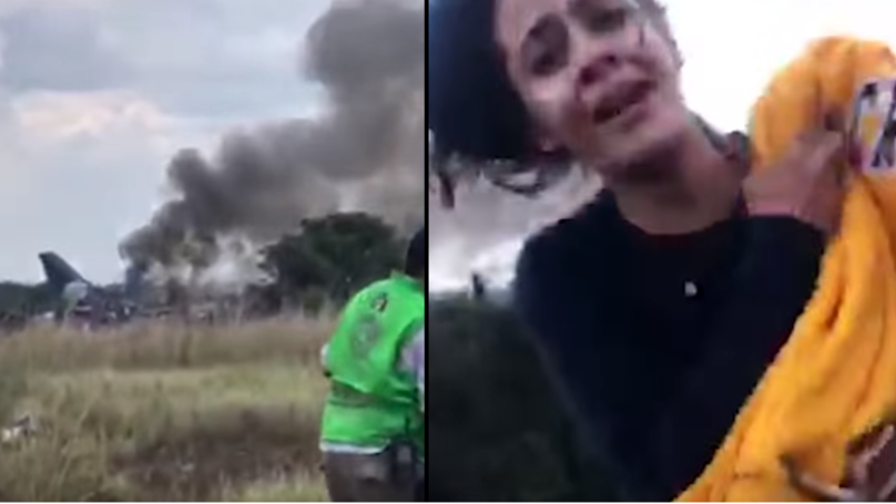 Terrifying On Board Footage Shows Durango Plane Crash And Burst Into Flames