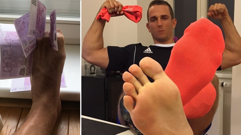 Former Fitness Model Makes A Whopping £1,500 A Month Selling Dirty Socks