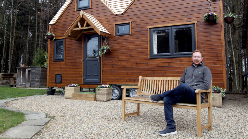 Man Saves £1,000 Each Month By Living In Self-Built 'Eco Home'