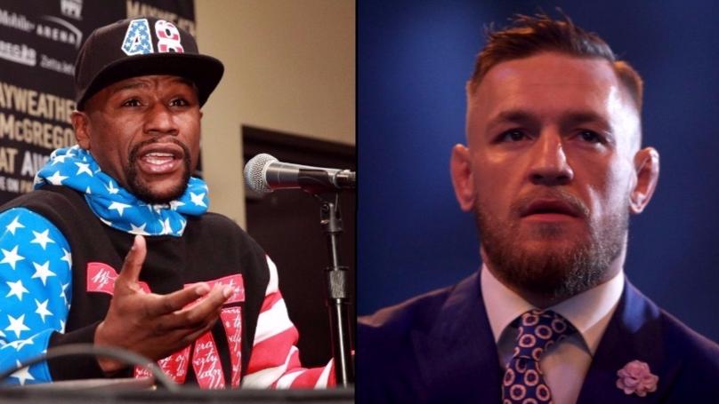 Conor McGregor Responds To Mayweather's 8oz Glove Instagram Post