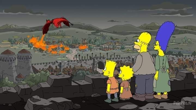 The Simpsons Predicted The Latest Episode Of Game Of Thrones In 2017