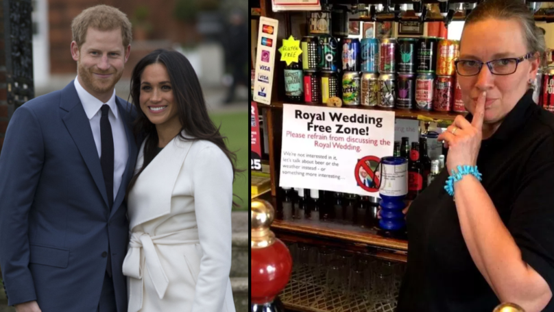 Pub Declares Itself 'Royal Wedding-Free Zone' Banning Any Mention Of The Big Day