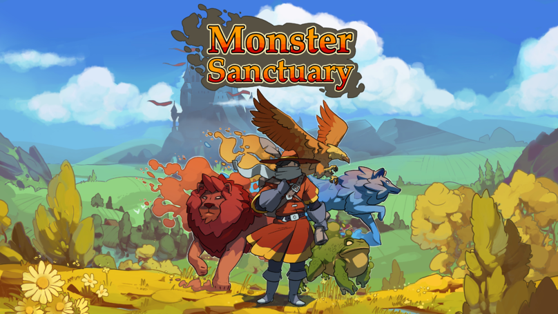'Monster Sanctuary' Looks Like A Cross Between Pokemon And Metroid