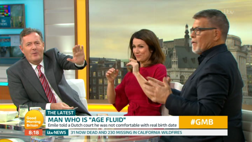 'Tinder Pensioner' Emile Ratelband Causes Chaos On Good Morning Britain After Saying Rude Word