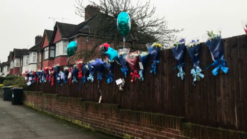 Flowers And Balloons Left For Dead Burglar Have Been Torn Down By Angry Neighbours