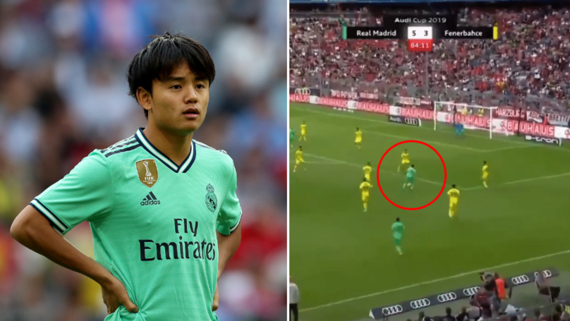 Takefusa Kubo Voted Real Madrid's Player Of The Match By Fans Vs. Fenerbahce