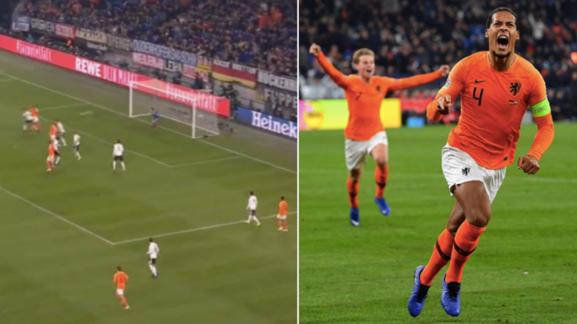 Virgil Van Dijk Scores 90th Minute Volley To Send Holland Through To Nations League Finals