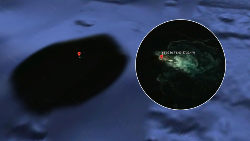 Google Earth: Mysterious Sighting Sparks Rumours 'The Kraken' Has Been Found