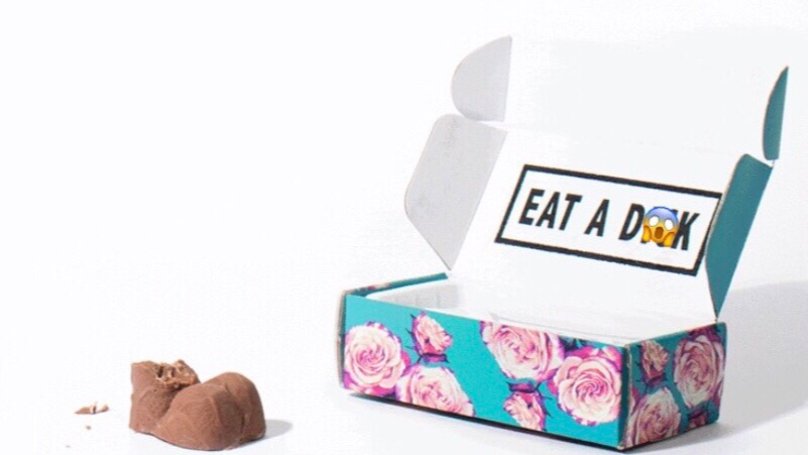 Now's Your Chance To Tell Someone To Eat A D*ck (In Chocolate Form)