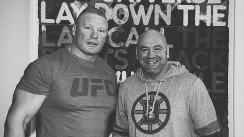 Dana White's Picture With Brock Lesnar Has Got Everybody Talking