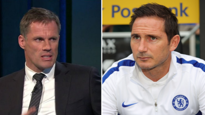 Frank Lampard Warned By Jamie Carragher Ahead Of Chelsea Managerial Debut