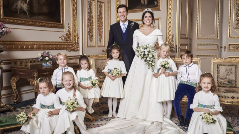 ​No One Can Figure Out What Mia Tindall Is Holding In Royal Wedding Pictures