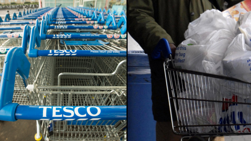 Tesco Under Fire For 'Sexist' Instructions On Shopping Trolleys