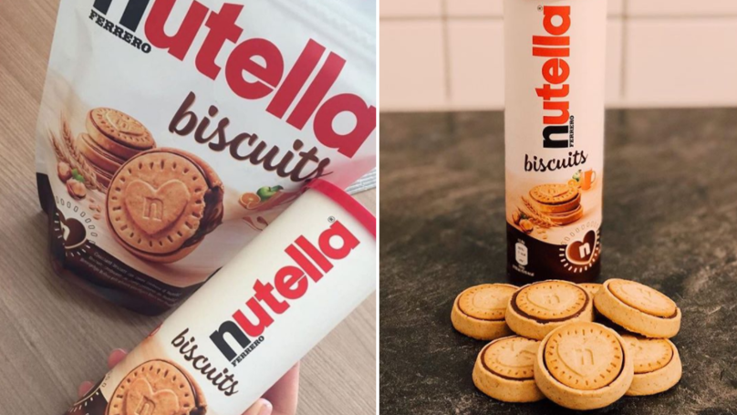 There's A New Kind Of Nutella Biscuit Out And They Look Incredible